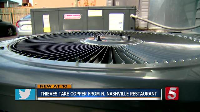 Police- Copper Thefts Up In North Nashville