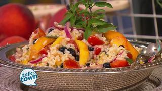 Daisy King's Peachy Rice Salad