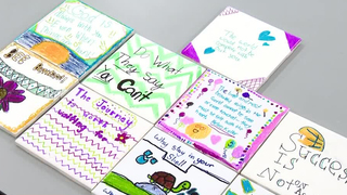 Students Decorate Tiles, Spread Loving Messages