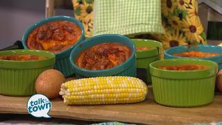 Corn Souffle from White's Family Farm