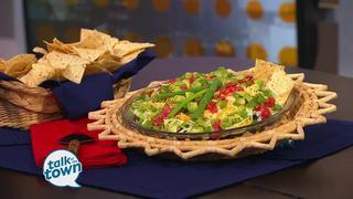 Healthy 7 Layer Mexican Fiesta Dip