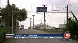 How will the MLS Stadium affect the Fairgrounds?