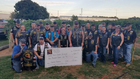 Check Presented To Purple Hearts Reunited