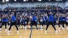 Assist Principal Joins Cheerleaders At Pep Rally