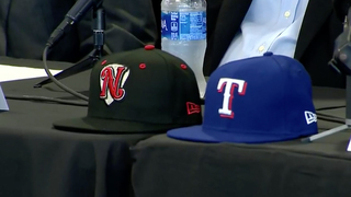 Sounds, Texas Rangers Announce 4-Year Contract