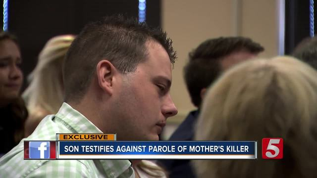 Son Testifies To Deny Parole For His Mother-s Killer