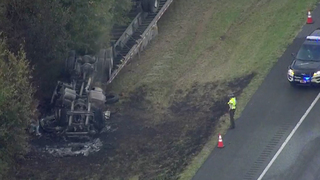 I-65 Reopens After Cargo Fire Near Spring Hill