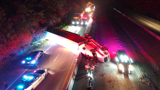 I-40 E. Reopens In Dickson Co. After Semi Crash