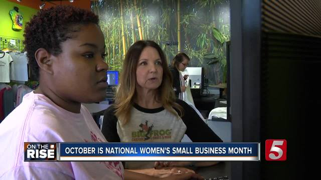 Woman Leaves Insurance World To Start Own Small Business