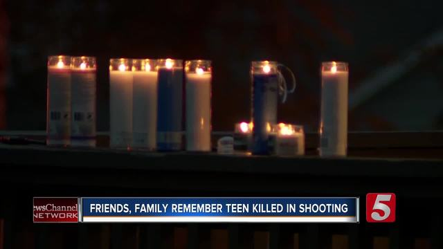 Vigil Held For 14-Year-Old Killed In Shooting