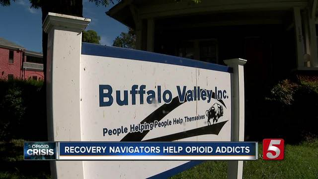 Opioid Addicts Receive Help From Recovery Navigators