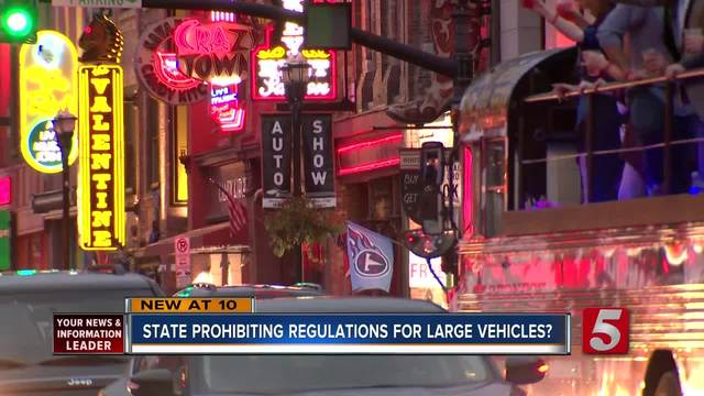 State Laws Prohibit Local Regulation Of Large Occupancy Vehicles