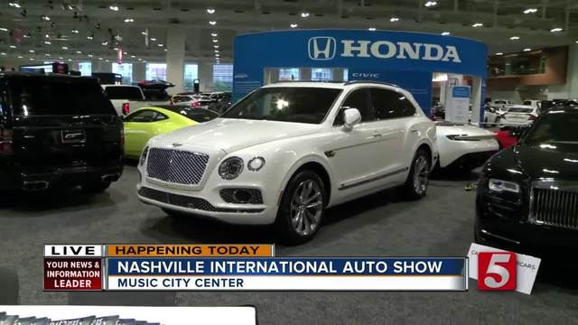 Nashville International Auto Show Takes Over Music City