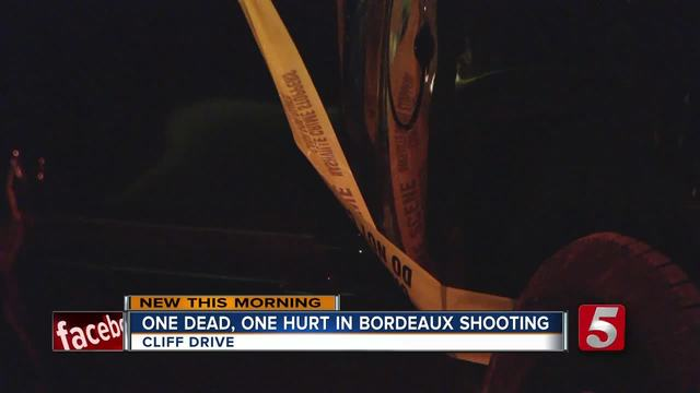 1 Killed- 1 Injured In Cliff Drive Shooting