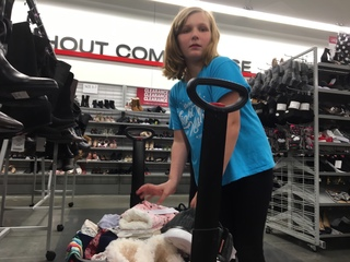 Young Cancer Survivor Goes On Shopping Spree
