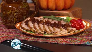 Lynne Tolley's Bourbon Brown Sugar Pork Loin