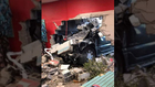 12-year-old driver crashes into building