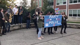 Party at the Polls encourages people to vote