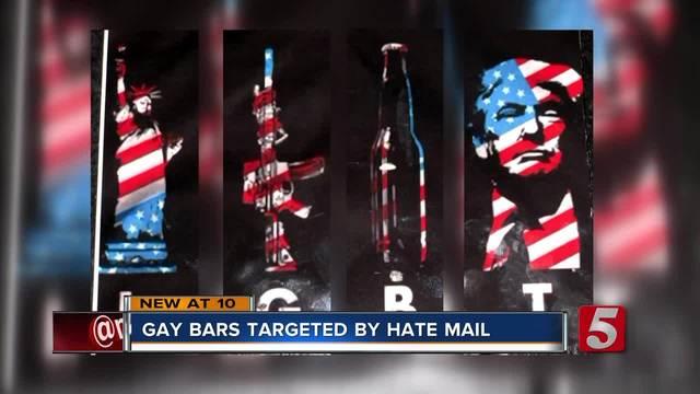 Hate mail sent to Nashville gay bars