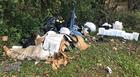 Trash dumping: a problem for park crews