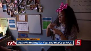 School Patrol: Students Learn Sign Language