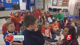 Walter Hill Elementary Teacher Autumn Bivins