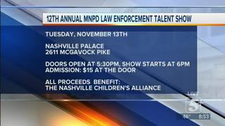 12th Annual MNPD Law Enforcement Talent Show