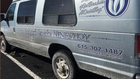 Burglar steals from homeless ministry van