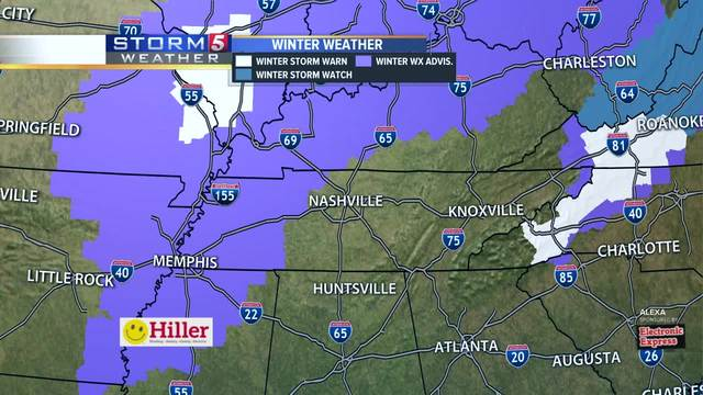Storm 5 Alert Issued Ahead of Wintry Mix