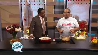 Big Al Deli's Shrimp & Grits Casserole