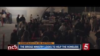 The Bridge Ministry helps feed homeless