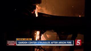 Garden Center Struggles Post Building Fire