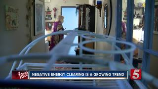 Negative energy clearing is a growing trend