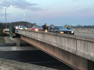 Police investigating drive-by shooting on I-65