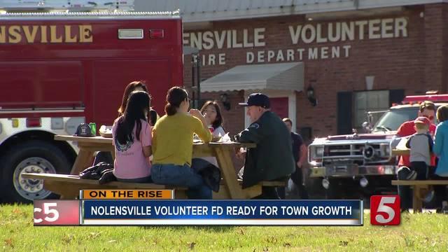 Nolensville-s volunteer fire departement dealing with population triple