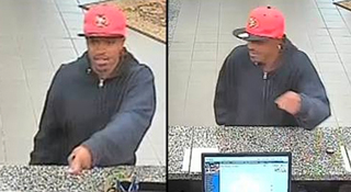 Police search for Brentwood bank robbery