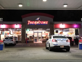 Meat cleaver, knife used in Hermitage robbery