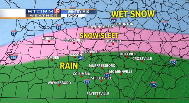 Storm 5 Alert extended through Monday