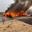 FDMJ puts out fire at golf course