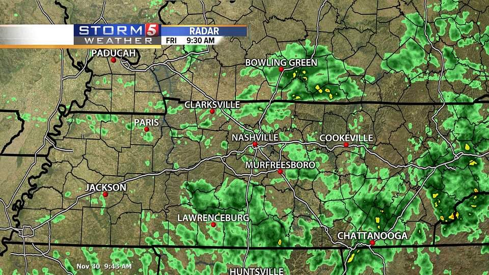 Middle Tennessee Radar | Nashville, TN Weather | NewsChannel 5 | WTVF-TV